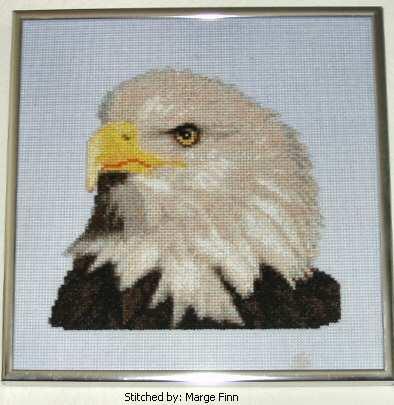 cross stitch pattern Eagle