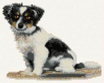 cross stitch pattern Tiny (Papillion)