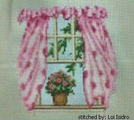 cross stitch pattern Window Sill