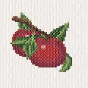 cross stitch pattern Apples