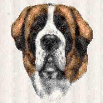 cross stitch pattern Barnaby