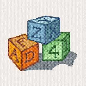 cross stitch pattern Blocks