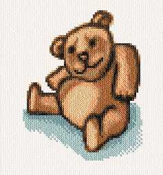 cross stitch pattern Sam