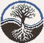cross stitch pattern Tree of Life