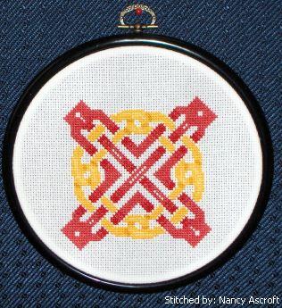 cross stitch pattern Celtic Art