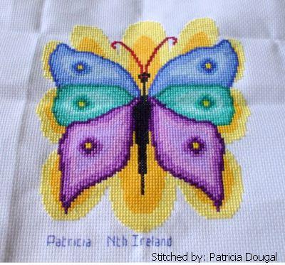 cross stitch pattern Butterfly
