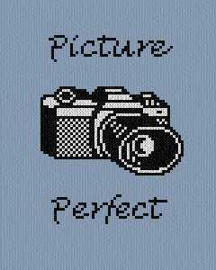 cross stitch pattern Picture Perfect