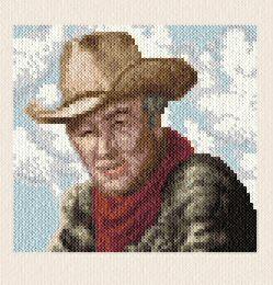 cross stitch pattern Cowboy