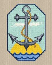 cross stitch pattern Anchor