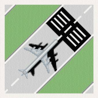 cross stitch pattern Landing