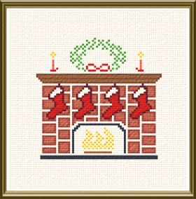 cross stitch pattern Christmas Stockings