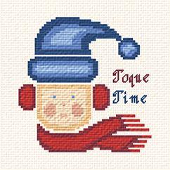 cross stitch pattern Toque Time