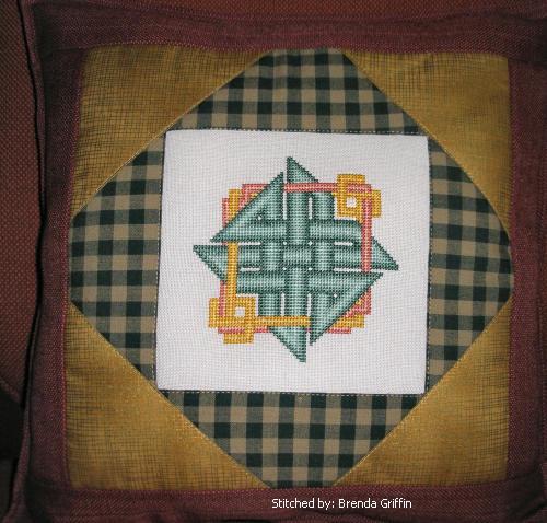 cross stitch pattern Celtic Knot - 3