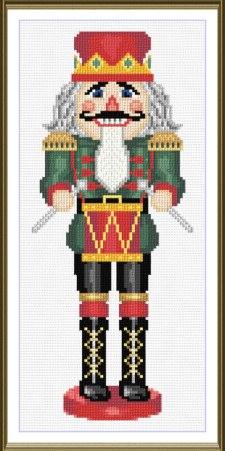 cross stitch pattern The Kings Drummer