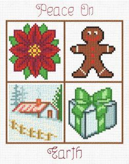 cross stitch pattern Small Christmas Designs 5
