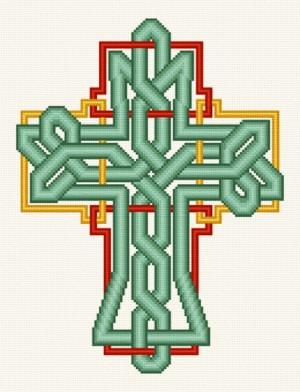 cross stitch pattern Celtic Knot Cross