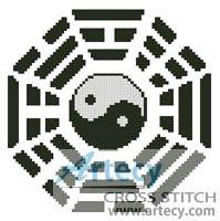 cross stitch pattern Bagua