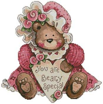 cross stitch pattern Beary Special
