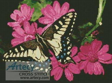 cross stitch pattern Butterfly 3