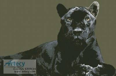 cross stitch pattern Black Panther