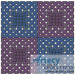 cross stitch pattern Celtic Chart 6