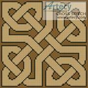 cross stitch pattern Celtic Pattern 2