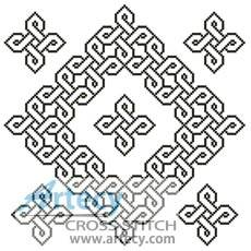 cross stitch pattern Celtic Chart 4