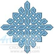 cross stitch pattern Celtic Chart 7