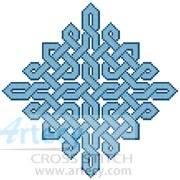 cross stitch pattern Celtic Chart 7