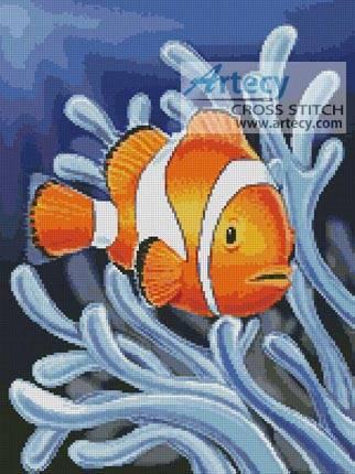 cross stitch pattern Clownfish 2