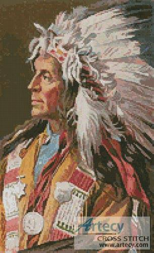 cross stitch pattern Chief