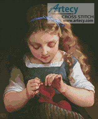 cross stitch pattern A Careful Stitch