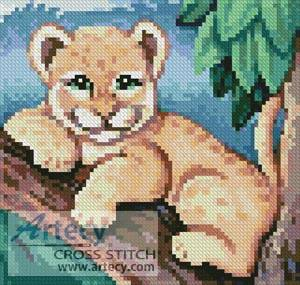 cross stitch pattern Mini Cub