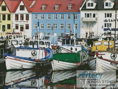 cross stitch pattern Europe Port