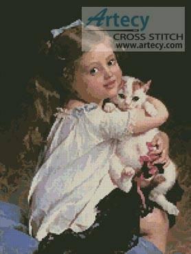 cross stitch pattern Her Best Friend
