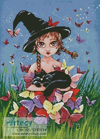 cross stitch pattern Katy and Co