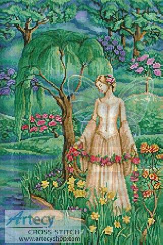 cross stitch pattern Lady of the Lake