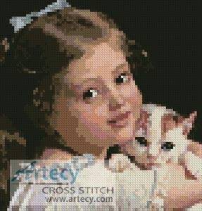 cross stitch pattern Mini Her Best Friend