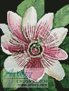 cross stitch pattern Mini Passion Flower