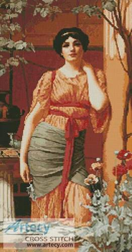 cross stitch pattern Nerissa