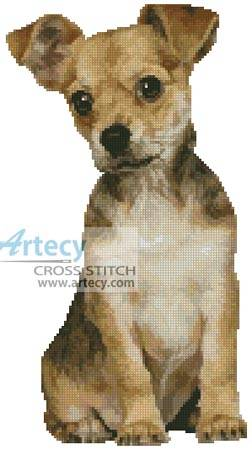 cross stitch pattern Puppy 2