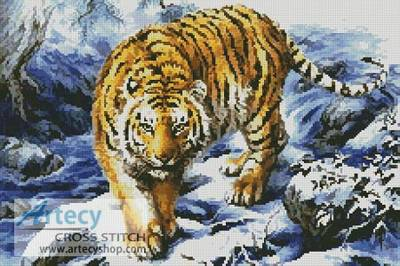 cross stitch pattern Siberian Kingdom