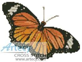 cross stitch pattern Small Butterfly