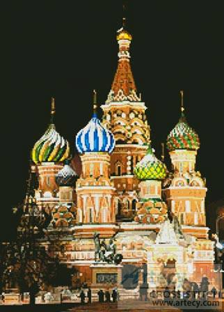 cross stitch pattern Saint Basil s Cathedral