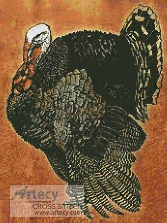 cross stitch pattern Turkey 4