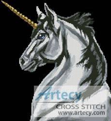 cross stitch pattern Unicorn
