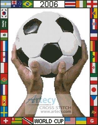 cross stitch pattern World Cup 2006