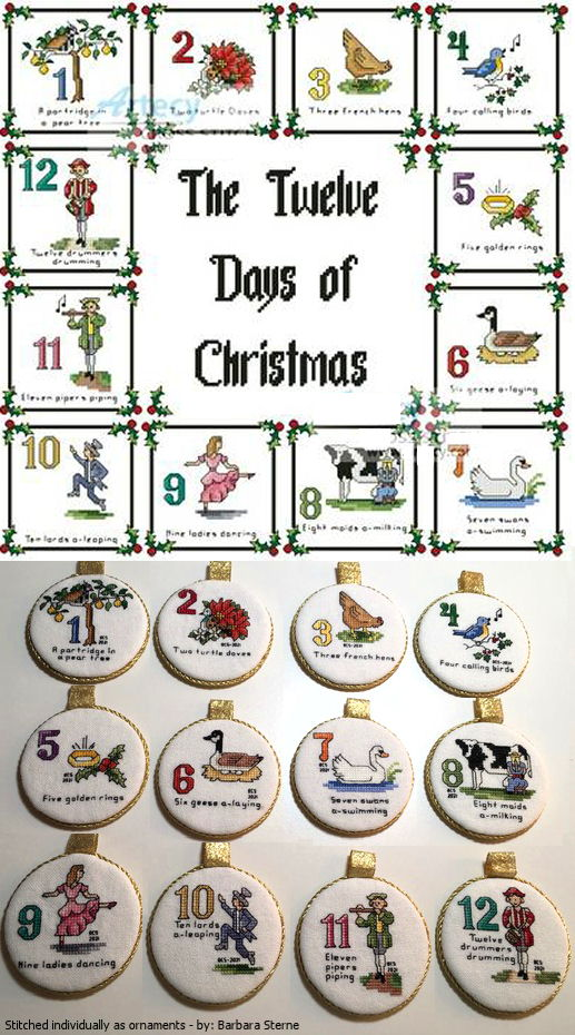 12 days of christmas sampler - When Is The 12 Days Of Christmas