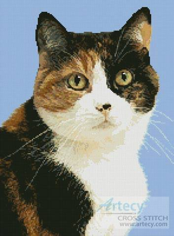 cross stitch pattern Cat 5