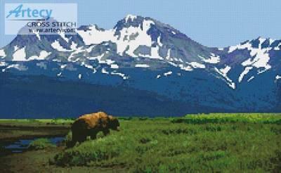 cross stitch pattern Alaska 2